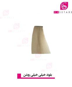 رنگ موی بلوند خیلی روشن 10 وینکور