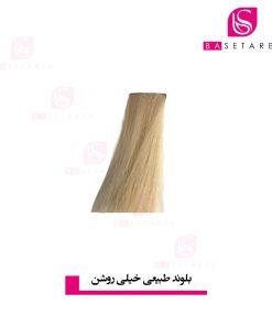 رنگ موی بلوند طبیعی خیلی روشن 11 وینکور