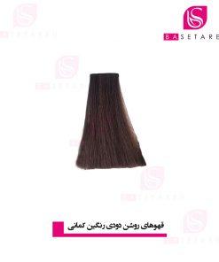 رنگ موی قهوه ای روشن دودی 5.12 وینکور