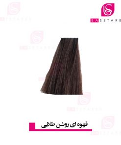 رنگ موی قهوه ای روشن طلایی 5.3 وینکور