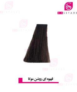 رنگ موی قهوه ای روشن موکا 5.8 وینکور