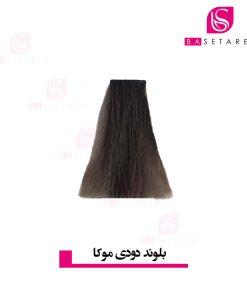 رنگ موی بلوند دودی موکا 7.18 وینکور