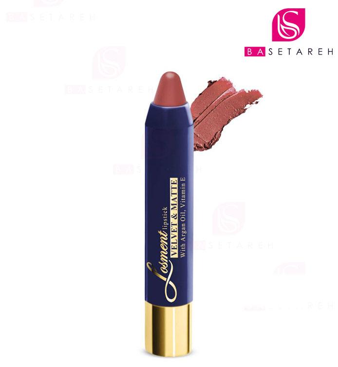 رژ لب مدادی مات L606 لوسمنت Losment Lipstick
