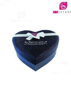 جعبه کادویی قلبی متوسط