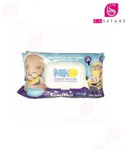 دستمال مرطوب کودک با عصاره کالاندولا نینو