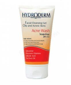 ژل شستشوی صورت مخصوص پوست های چرب هیدرودرم
