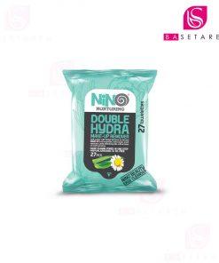 دستمال مرطوب پاک کننده آرایش آبرسان نینو