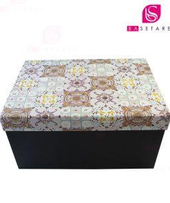 جعبه کادویی مستطیل طرح دار