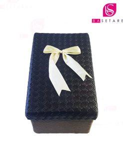 جعبه کادویی مستطیل در چرمی 20×12