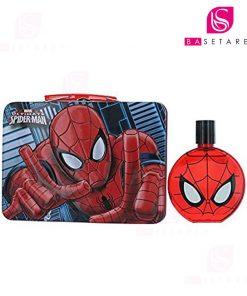 ست پسرانهادوتویلت و کیف فلزی Spiderman