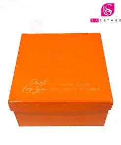 جعبه کادویی مربع 17×17