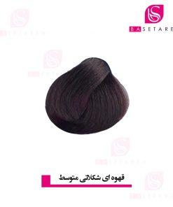 رنگ موی قهوه ای شکلاتی متوسط 4CH دیلنزو