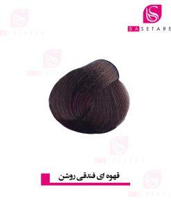 رنگ موی قهوه ای فندقی روشن 5HA دیلنزو