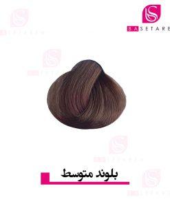 رنگ موی بلوند متوسط