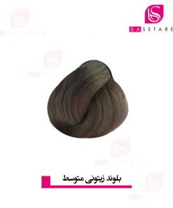 رنگ موی بلوند زیتونی متوسط 7I دیلنزو