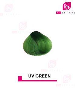 رنگ مو فانتزی UV GREEN استار گیزر