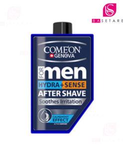 ژل افتر شیو مردانه ۲ در ۱ کامان مخصوص پوستهای خشک و حساس