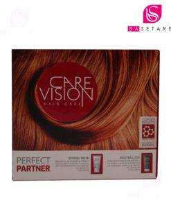کیت مراقبت از مو Care Vision مخصوص موهای خشک، آسیبدیده و رنگشده