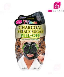 ماسک لایهای زغال و شکر سیاه سون هون