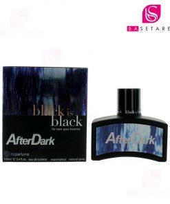 ادوتویلت مردانه نیوپارفمز مدل black is black After Dark