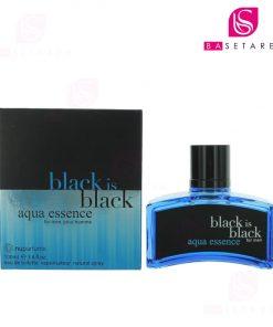ادوتویلت مردانه نیوپارفمز مدل black is black aqua essence