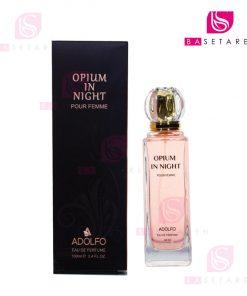 ادوپرفیوم زنانه آدولفو مدل Opium In Night