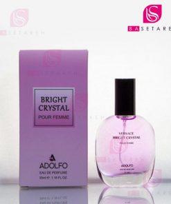 ادوپرفیوم زنانه جیبی آدولفو مدل Bright Crystal