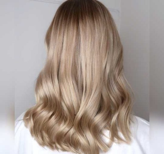 ترکیب رنگ مو بدون دکلره