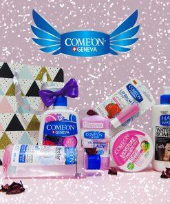 پک کادویی محصولات مراقبت از پوست کامان ویژه خانمها