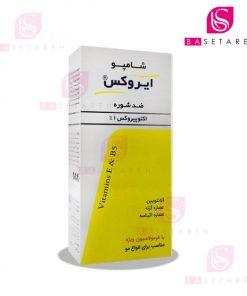 شامپو ضد شوره اکتوپیروکس ۱ درصد ایروکس مناسب انواع مو