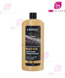 کرم نرم کننده موی سر لروکس مناسب موهای رنگشده و آسیبدیده