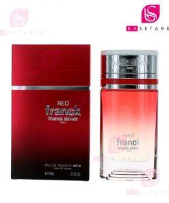 ادوتویلت مردانه فرانک اولیویه مدل Red Franck