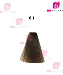 رنگ مو ویتااِل سری Ash Cenere شماره 6/1 بلوند خاکستری تیره