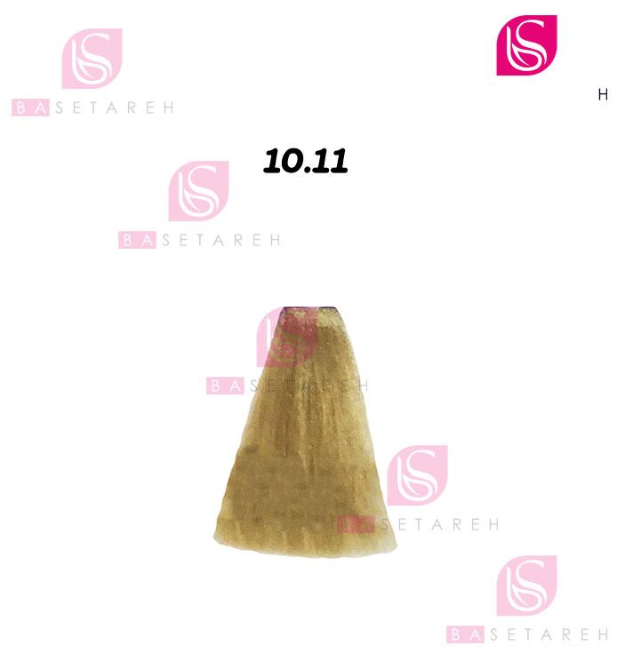 رنگ مو ویتااِل سری Intense Ash Cenere شماره 10/11 بلوند پلاتینی دودی