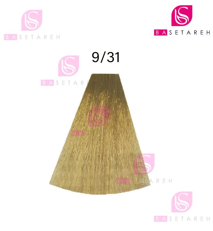رنگ مو ویتااِل سری Ash Golden شماره 9/31 بلوند طلایی خاکستری خیلی روشن