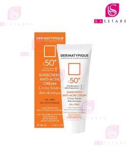 ضد آفتاب پوست چرب و جوشدار درماتیپیک آنتی آکنه با +SPF50