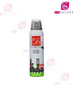 اسپری خوشبوکننده بدن مردانه Selection City مدل London