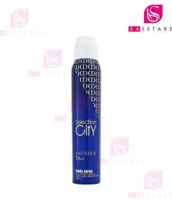 اسپری خوشبوکننده بدن مردانه Selection City مدل Dior Suavage