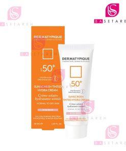 ضد آفتاب رنگی پوست خشک درماتیپیک +SPF50 رز بژ