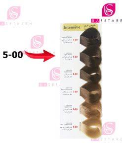 رنگ مو کالیون سری Intensive شماره 00-5 قهوهای روشن قوی