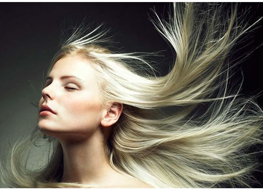 تقویت موی دکلره شده