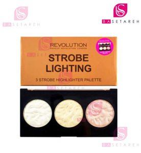 پالت هایلایتر رولوشن | Revolution | مدل Strobe Lighting