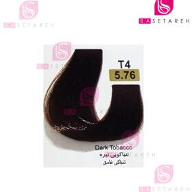 رنگ مو تاکوری سری تنباکویی شماره 5.76 تنباکویی تیره
