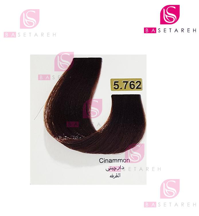 رنگ مو تاکوری سری رنگهای ترکیبی شماره 5.762 دارچینی