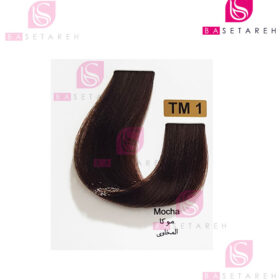 رنگ مو تاکوری سری رنگهای چند ترکیبی شماره TM1 موکا