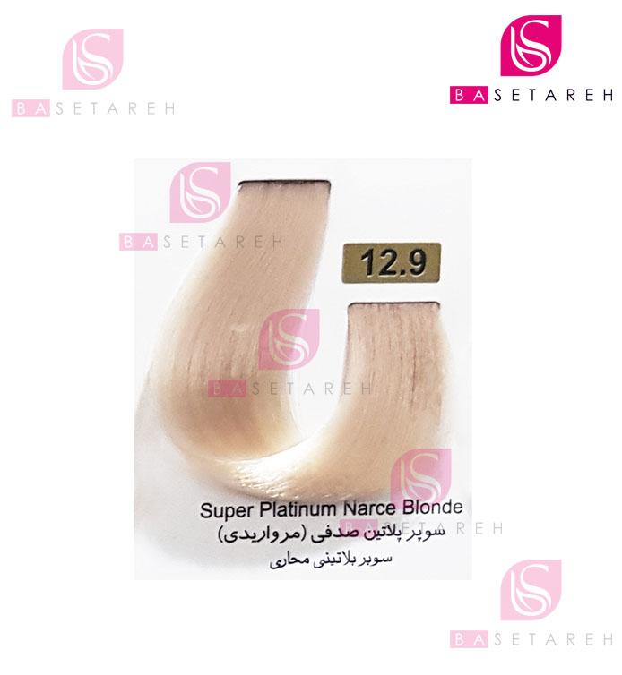 رنگ مو تاکوری سری هایلایت شماره 12.9 سوپر پلاتین صدفی (مرواریدی)