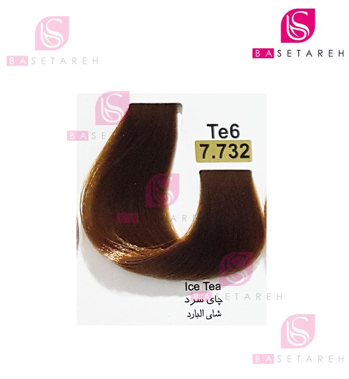 رنگ مو تاکوری سری چای شماره 7.732 چای سرد