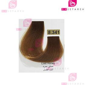 رنگ مو تاکوری سری رنگهای ترکیبی شماره 8.341 عسلی سرد