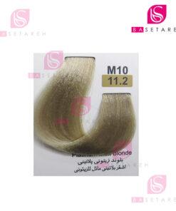 رنگ مو تاکوری سری زیتونی شماره 11.2 بلوند زیتونی پلاتینی