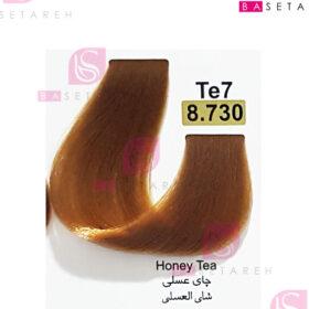 رنگ مو تاکوری سری چای شماره 8.730 چای عسلی